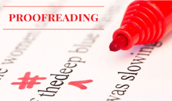 Professional Online Editing And Proofreading Services